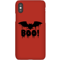 Boo Bat Phone Case for iPhone and Android - iPhone 8 Plus - Snap Case - Matte