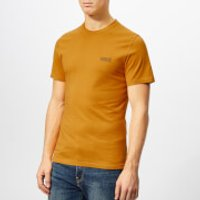 Barbour International Men's Small Logo T-Shirt - Harvest Gold - M - Yellow
