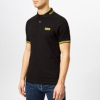 Barbour International Men's Essential Tipped Polo Shirt - Black - XL