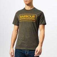 Barbour International Men's Essential Large Logo T-Shirt - Sports Olive - XXL - Green