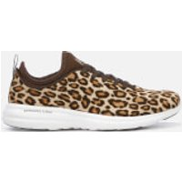 Athletic Propulsion Labs Women's Phantom Calf Hair Trainers - Cheetah - UK 3 - Brown