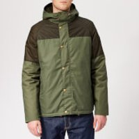 Barbour Mens Dale Wax Jacket - Light Moss - S - Green