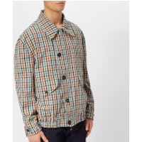 Vivienne Westwood Men's Peasant Check Savana Bomber Jacket - Multi - IT 46/S - Multi