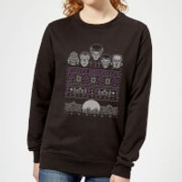Universal Monsters I Prefer Halloween Women's Sweatshirt - Black - L - Black