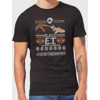 E.T. the Extra-Terrestrial Be Good or No Presents Men's T-Shirt - Black - 5XL - Black - Presents Gifts