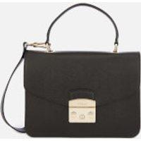 Furla Metropolis Small Top Handle Bag - Black