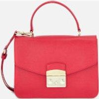 Furla Metropolis Small Top Handle Bag - Ruby