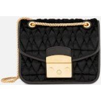 Furla Womens Metropolis Cometa Mini Cross Body Bag - Black