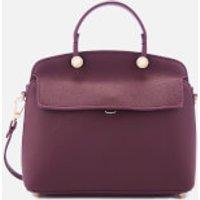 Furla Womens My Piper Small Top Handle Bag - Purple