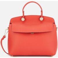 Furla Womens My Piper Small Top Handle Bag - Orange