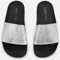 McQ Alexander McQueen Women's Chrissie Slide Sandals - Silver - UK 4 - Silver