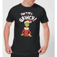 The Grinch Dont Be A Grinch Men's Christmas T-Shirt - Black - 4XL - Black