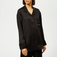 Alexander Wang Long Sleeve Pyjama Shirt - Black