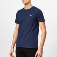 Levis Mens Original T-Shirt - Cotton Patch Dress Blues - L