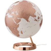 Atmosphere Light & Colour Illuminated Globe - 30cm - Metal Copper