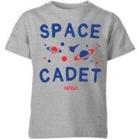 NASA Space Cadets Galaxy Kids' T-Shirt - Grey - 11-12 Years - Grey