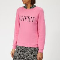 Whistles Women's Cherie Embroidered Sweatshirt - Pink - XS - Pink
