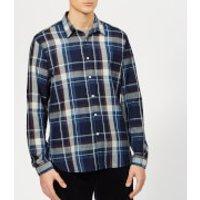 Oliver Spencer Men's New York Special Shirt - Downe Indigo - 16  - Blue