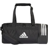 adidas Convertible 3 Stripes Duffle Bag - Black - L