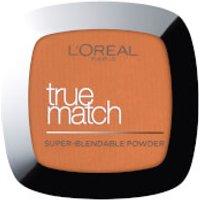 L'Oreal Paris True Match Face Powder 9g (Various Shades) - 10W Deep Golden