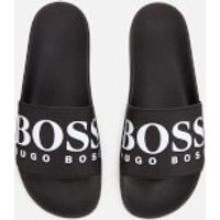 Boss BOSS Men's Solar Slide Sandals - Black - UK 7
