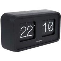 Karlsson Flip Clock Bold - Black - Karlsson Gifts
