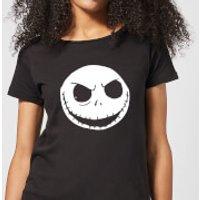 Nightmare Before Christmas Jack Skellington Women's T-Shirt - Black - M - Black
