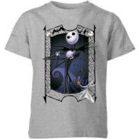 The Nightmare Before Christmas Jack Skellington Zero Pose Kids' T-Shirt - Grey - 3-4 Years - Grey
