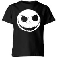The Nightmare Before Christmas Jack Skellington Kids' T-Shirt - Black - 5-6 Years - Black