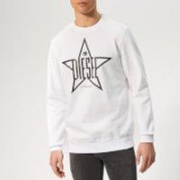 Diesel Men's Gir Sweatshirt - White - XL - White