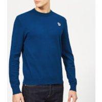 PS Paul Smith Men's Crew Neck Zebra Sweatshirt - Indigo - XXL - Blue