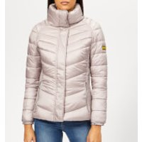 Barbour International Women's Camier Quilted Coat - Amethyst - UK 14 - Pink