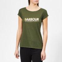 Barbour International Women's Court T-Shirt - Moss Green - UK 8 - Green