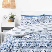in homeware Duvet Set - Blue Mandala - Single - Blue