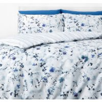 in homeware Duvet Set - Blue Floral - Single