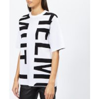 Helmut-Lang-Womens-Helmut-Logo-TShirt-Logo-Optic-WhiteBlack-S-Multi