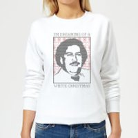 I'm Dreaming Of A White Christmas Women's Sweatshirt - White - S - White