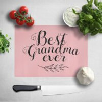 Best Grandma Ever Chopping Board - Grandma Gifts