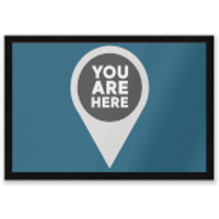 You Are Here Entrance Mat
