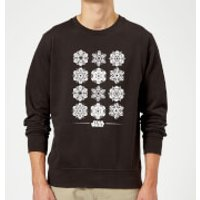 Star Wars Snowflake Christmas Sweatshirt - Black - XL - Black
