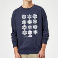 Star Wars Snowflake Christmas Sweatshirt -