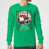 Star Wars A Very Merry Sithmas Christmas Sweatshirt - Kelly Green - M - Kelly Green