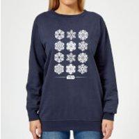 Star Wars Snowflake Women`s Christmas Sweatshirt