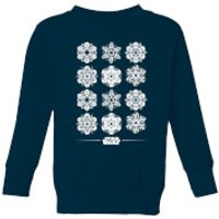 Star Wars Snowflake Kids Christmas Sweatshirt