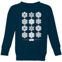 Star Wars Snowflake Kids Christmas Sweatshirt