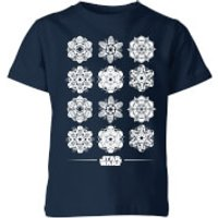 Star Wars Snowflake Kids Christmas T-Shirt