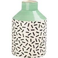 Sass & Belle Memphis Modern Pastel Green Pattern Vase - Vase Gifts