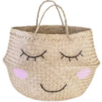 Sass and Belle Seagrass Sweet Dreams Storage Basket