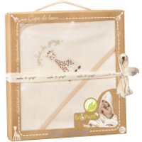 Sophie la Girafe So Pure Hooded Bath Towel