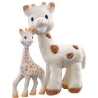 Sophie la Girafe Sophie the Giraffe and Sophie Cherie Set